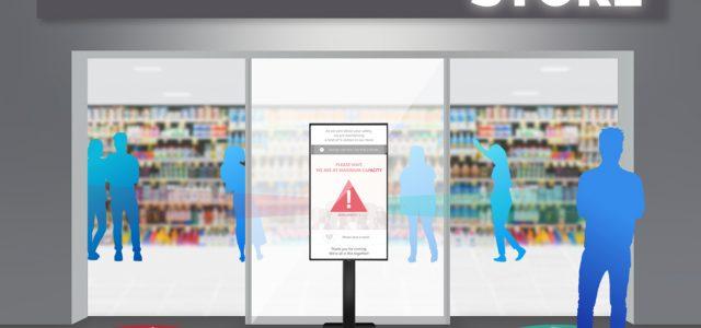 Sharp: Lösung zur Eintrittskontrolle