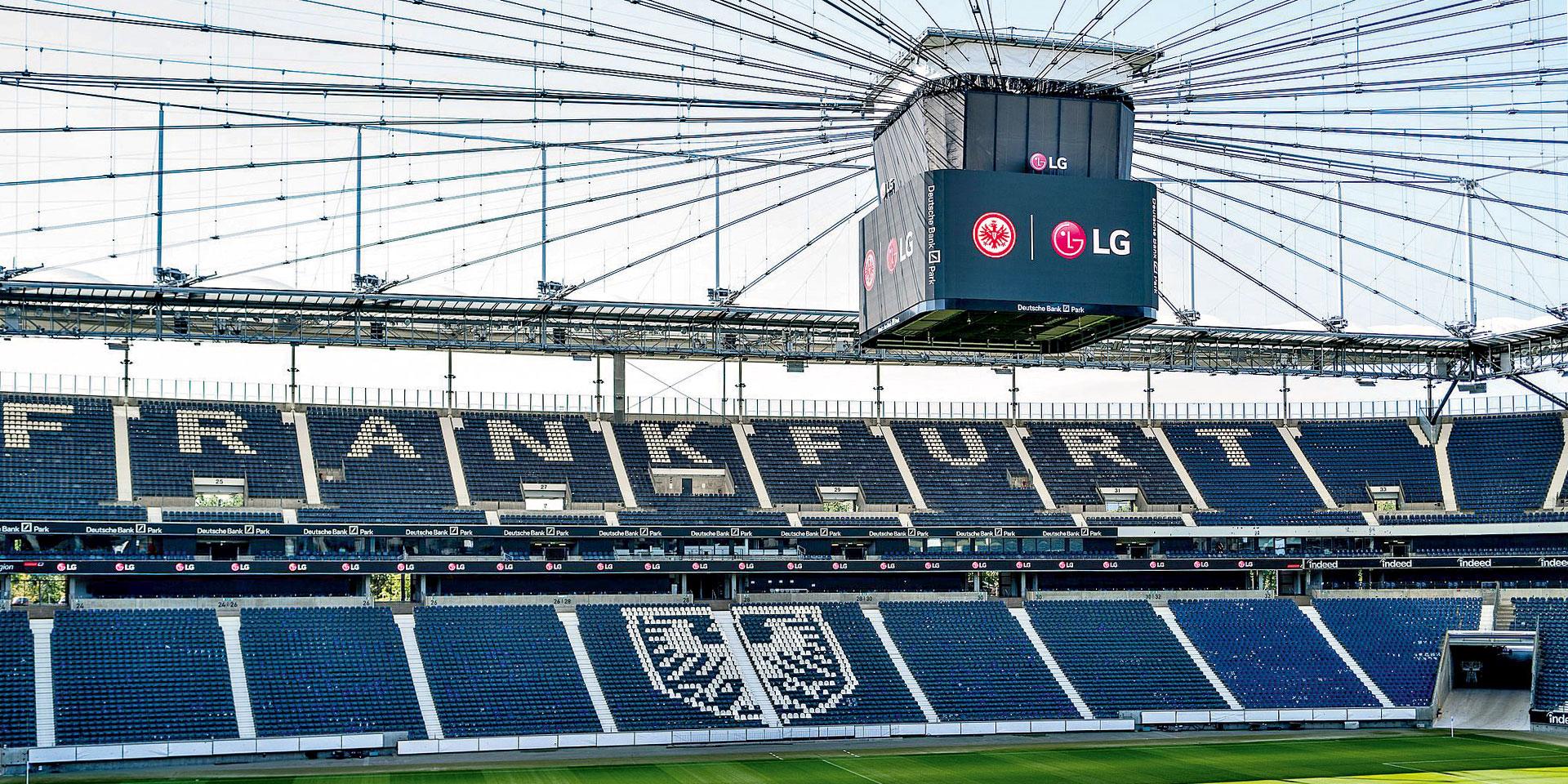 Eintracht Frankfurt LG Electronics display