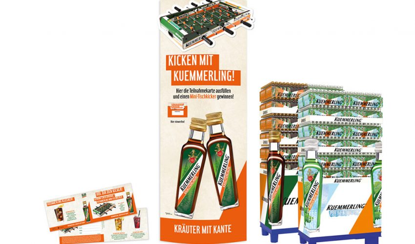 Kümmerling, display, POS-Aktion, Verlosung