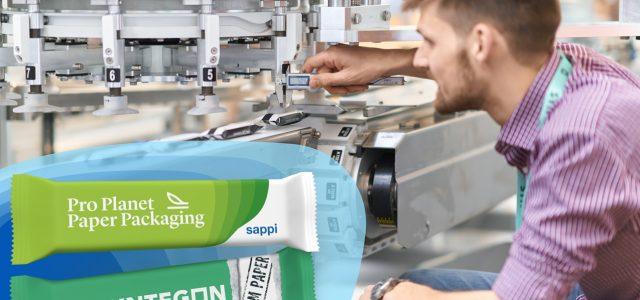Sappi Syntegon nachhaltige Verpackung Süßwaren
