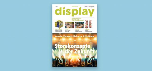 display erstmals als E-Magazin