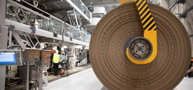 Papiermaschine Mondi Top Liner nachhaltig