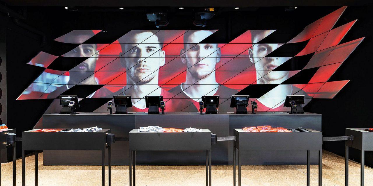 FC Bayern World, Kassen, Digital Store
