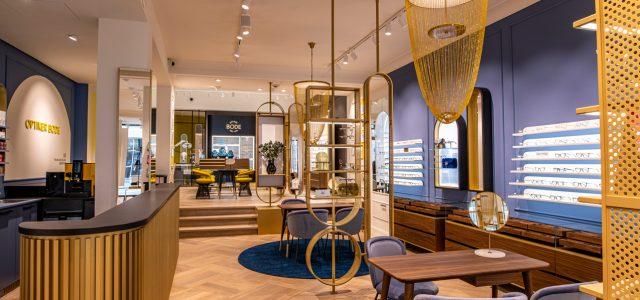 Lifestyle fürs Ladenkonzept: Schwitzke Storedesign Optiker Bode