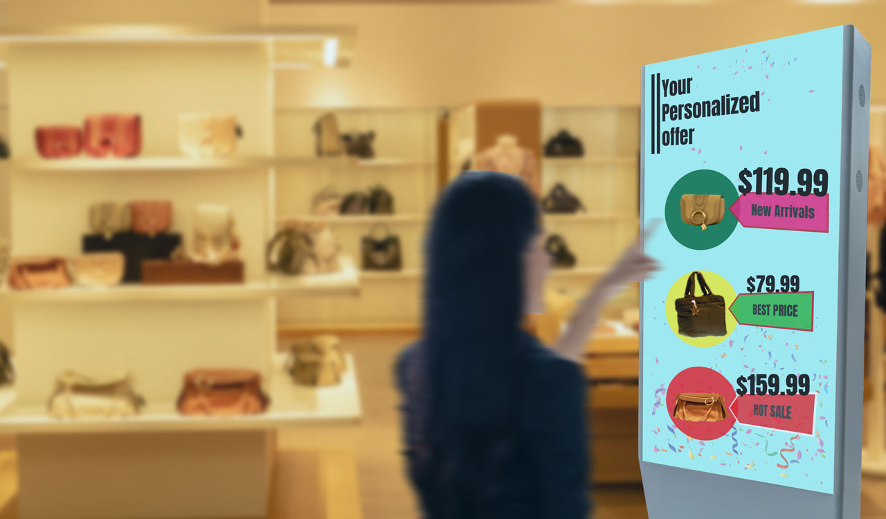 Digital Signage Retail
