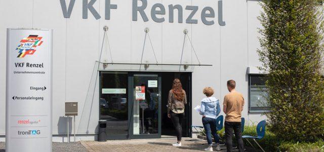 VKF Renzel startet Impfung im Betrieb