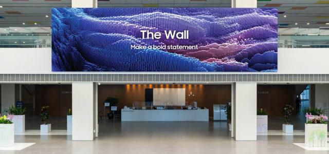 Samsung The Wall Micro LED KI