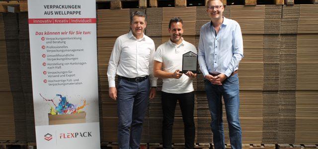 Flexpack ausgezeichnet mitDr. Otmar Zwiebelhofer Supplier Award