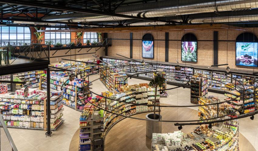 Sunka Plusfresc spanischer Supermarkt Wanzl