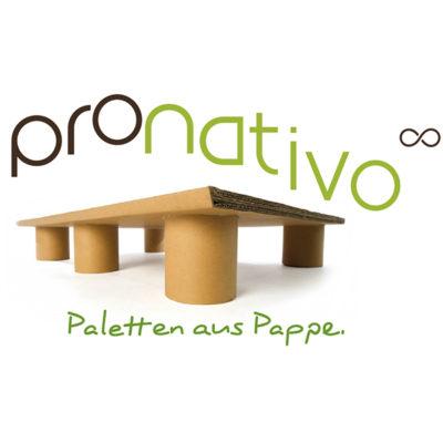 pronativo Paletten aus Pappe